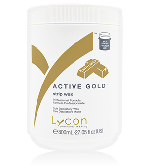 Strip Vax Active Gold