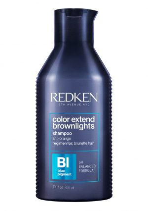 REDKEN COLOR EXTEND BROWNLIGHTS<br> SULFATE-FREE BLUE SHAMPOO